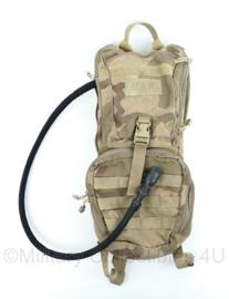 Camelbak waterrugzak desert camo camelbak ambush met cargopack Cordura - 51x23x5 cm -gebruikt-  Origineel