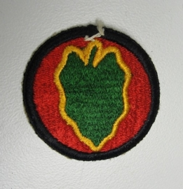 US Army patch - 24th Infantry Division - origineel WO2