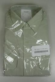 DT2000 Overhemd Nederlands leger lichtgroen - korte mouw - nieuw in verpakking -  maat 38 tm. 43 - origineel