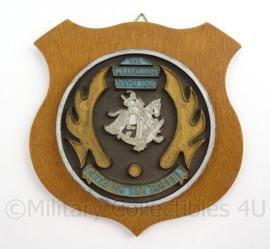 KL Landmacht 108 Verkennings Bataljon Huzaren van Boreel - afmeting 16 x 16 x 1,5 cm - origineel