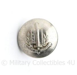 Gemeentepolitie knoop 16 MM zilver - vroeg model -  origineel