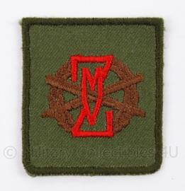 """KL Landmacht ZMV embleem """"Zware Lichamelijke Vaardigheid"""" - afmeting 4,5 x 5 cm - origineel"""