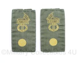 Defensie KL GVT epauletten Korps/Regiment Adjudant - 9 x 5 cm - origineel