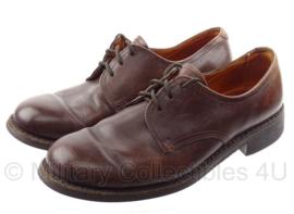 KL DT nette schoenen Van Lier BRUIN leer - maat 10,5 = 45 B - origineel