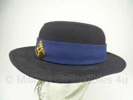 Nederlandse Dames politie hoed - met insigne - maat 55 origineel