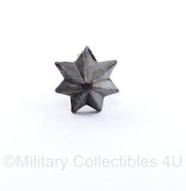 Defensie groter model metalen ster voor op de medaille baton - origineel