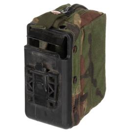 DPM camo munitie patroontas Minimi voor 100 patronen - 13 x 9 x 7 cm - gebruikt - origineel