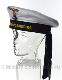 Kriegsmarine Matrozen muts Kriegsmarine Tellermutze- origineel omgebouwd