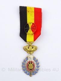 Belgische ereteken van de arbeid 1e klasse gouden medaille - Origineel