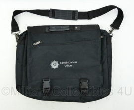 Zeldzame Britse Politie Police Security Northern Ireland Family Liaison Officer schoudertas - 34 x 40 x 6 cm - origineel