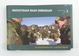 KL Landmacht naslagwerk totstandkoming 1 Logistieke Brigade - afmeting 15,5 x 10,5 cm - origineel