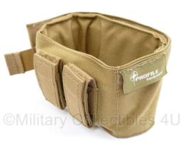 Nederlands leger Diemaco Colt C7 kolf houder steun coyote - maker profile equipment - 8 x 12 cm - nieuw !- origineel