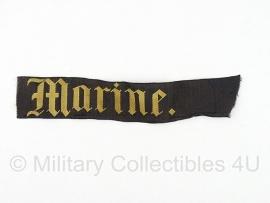 """WO2 KM Koninklijke Marine mutslint - model met """"punt""""origineel model voor 1940"""