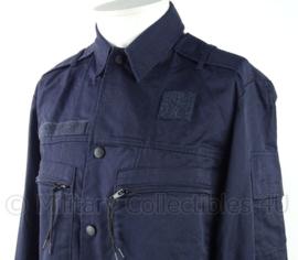 Donkerblauwe zomer uniform jas basis (ex marine) - zonder insignes - veel op voorraad - origineel