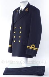 """KM Koninklijke Marine officiers uniform jasje en broek - rang LTZ2 """"Luitenant Ter Zee der 2de klasse"""" - 1979 - maat 50 - origineel"""