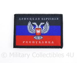 Oost Oekraïense Separisten embleem - met klittenband - 7,5 x 5 cm - origineel