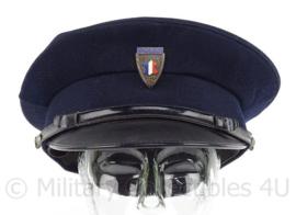 Franse Politie pet - maat 56 - zweetband zit los - origineel