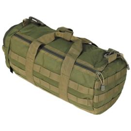 Ronde tactical bag GROEN - 12 liter
