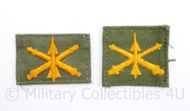 US Army Collar Branch insignia Air Defence Artillery Regiment - PAAR - origineel