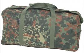Equipment bag Flecktarn camo  - 50 x 23 x 18 cm