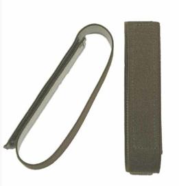 Broek elastiek - blousing band 3 cm breed met klittenband  groen - 1 paar