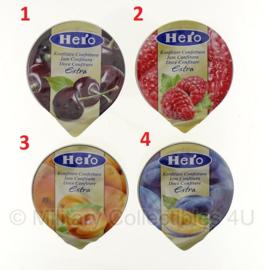 KL rantsoen Mini Jam 25 gram - verkrijgbaar in 4 smaken