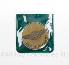 Coin Diamond Flight The Netherlands United States standing Operation Group NUSOG - origineel