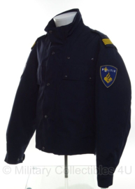 Nederlandse politie DAMES Goretex jas - kort model - ZONDER RANGEN - maat 40 - origineel