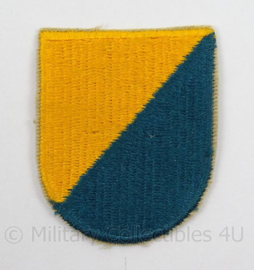 US Army Special Forces baret insigne 8th SFGA flash patch - afmeting 4,5 x 6 cm - origineel
