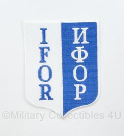 IFOR embleem  ИФОР - 10,5 x 7,5 cm - origineel
