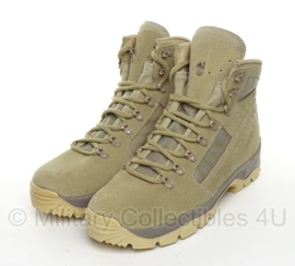 KL Nederlandse leger Meindl schoenen Desert - ONGEDRAGEN - maat 280B = 44B - origineel