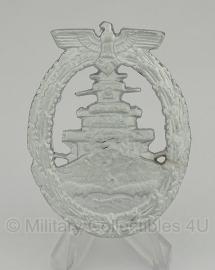 Kriegsmarine Flottenkriegs Abzeichen - voordelige uitvoering
