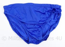 KL zwembroek felblauw 1992 - maat 5 = Large  - origineel