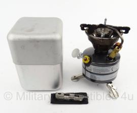 KL Nederlandse leger brander met tools en aluminium case Kooktoestel Multifuel- Dutraco Gouda B.V. - origineel