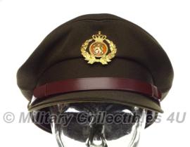 KL Nederlandse leger platte pet 1982 - officier - maat 57 - origineel