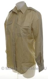 Britse leger DAMES overhemd khaki - lange mouw - maat 32/88 - origineel