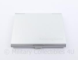 Belastingdienst visitekaartjes houder  -  10 x 7 cm - origineel