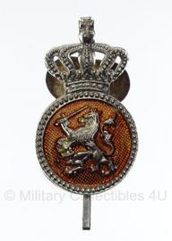 Petembleem Koninklijke Marechaussee- oud model manschappen Type 1 - 5 x 3 cm.  - origineel