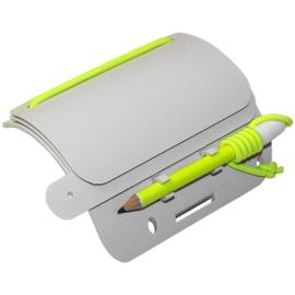 Beaver Wrist Mounted Multi Slate voor bijv. duikers  - polspaneel met potlood en houder voor notitieblokje - nieuw in verpakking