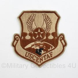 USAF US Air Force Desert embleem USCENTAF  - 8 x 8 cm - origineel