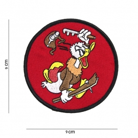 Flying Duck patch - 9 cm. diameter