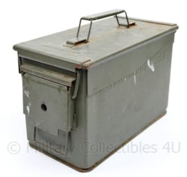 Defensie .50 AMMO box nr 7C2  58 grenade hand smoke - 29,5 x 18,5 x 14 cm - gebruikt - origineel