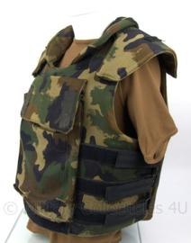 Camo kogelwerend vest MET inhoud  - klasse NIJ 3 - maat XXL - origineel leger