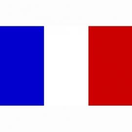 Vlag Frankrijk - Polyester -  1 x 1,5 meter