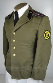 Russisch officiers uniform jas - 1 ster - maat 50 - incl. insignes - origineel