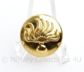 Korps Rijkspolitie te water knoop goud 24 MM -  origineel