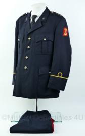 Korps Mariniers Barathea set muziekkorps - rang 2e Luitenant - Maat Jas 52K, broek 51 - Origineel