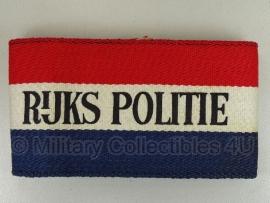 RIJKS POLITIE Rijkspolitie armband 1945 - origineel