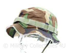 Korps Mariniers en US Army Special Forces Boonie met ingekorte randen - maat 7,5 - origineel