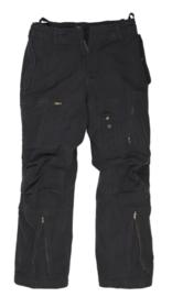 Flight trouser Katoen PREWASH - Zwart